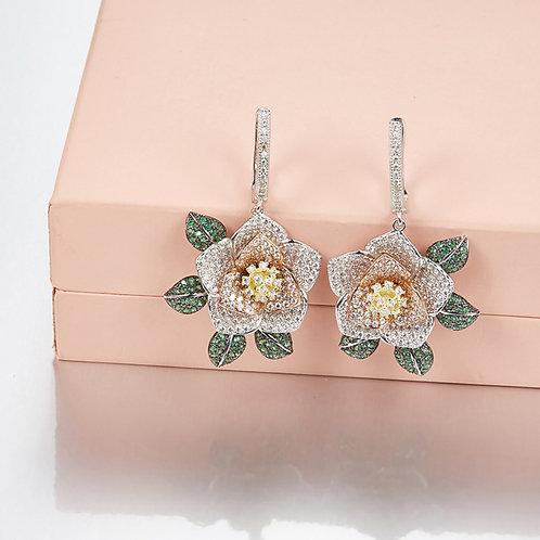 Floral Eternity Earrings III