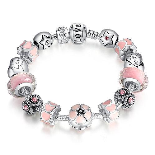 Pink Love Promise Bracelet