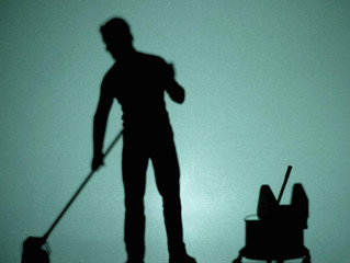 So you have a cleaning service provider. But, who actually cleans your facility?