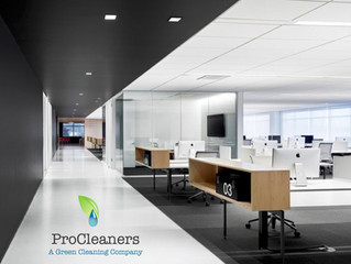 How often does your office need to be cleaned?