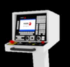 Realidad Virtual panel de control de Fagor para Kondia B500