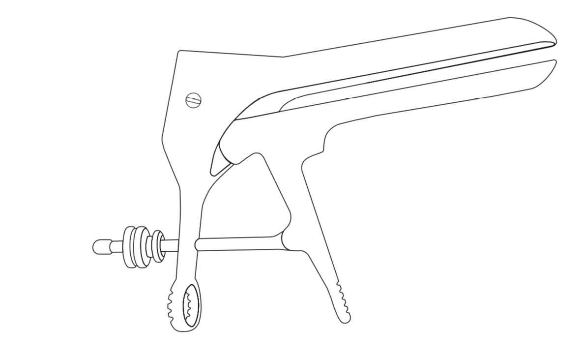 Surgical Tool Line Drawing