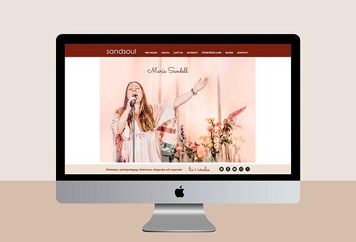 Webbsida sandsoul