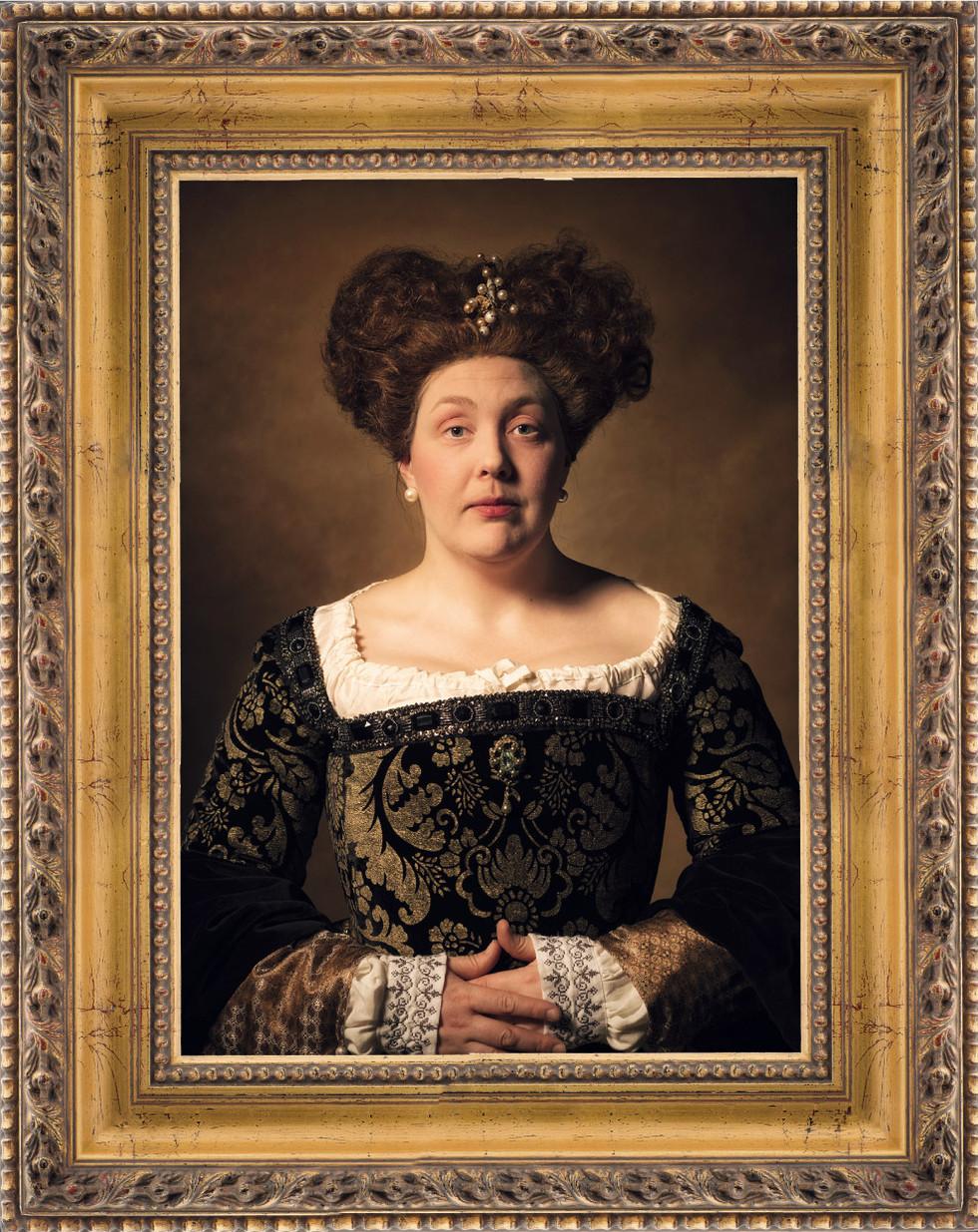 Olofs Rembrandtsinspirerade porträtt