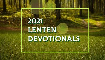 Lenten Devotional link