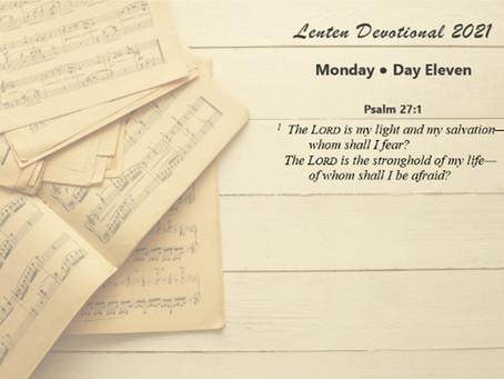 Lenten Devotional 2021 - Day Eleven