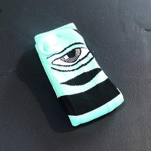 Toy Machine Sect Eye Mint Green socks