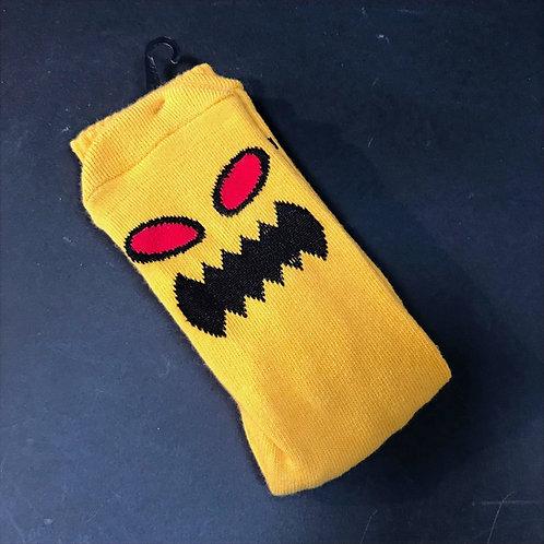 Toy Machine Monster dark yellow socks
