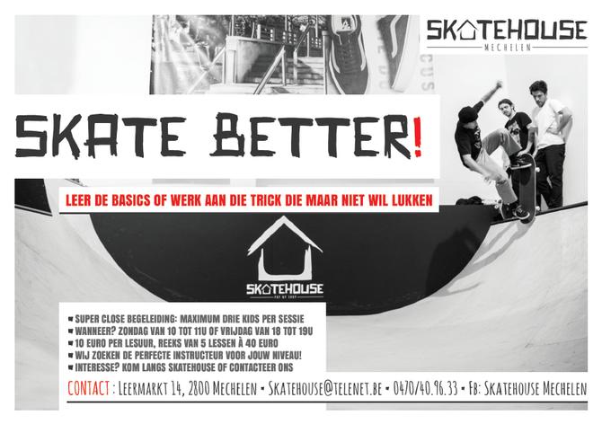 NEW: SKATE BETTER!