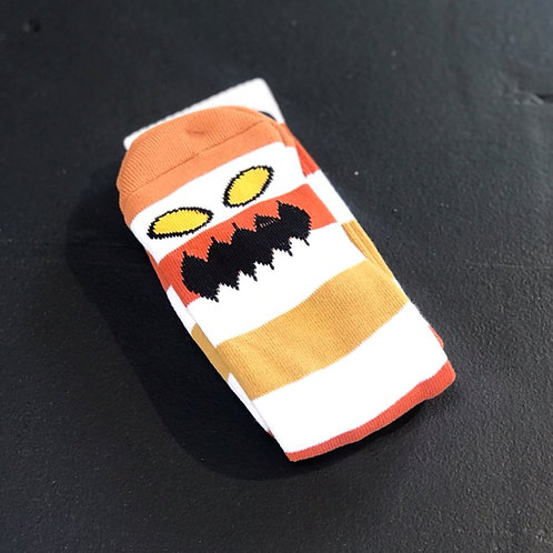 Toy Machine Monster Multi Stripes socks