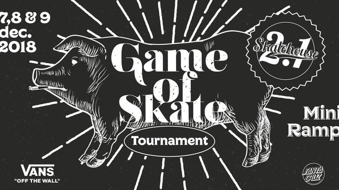 7,8 & 9/12/2018: Skatehouse 2.1