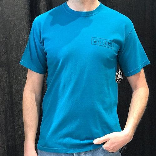 Welcome Latin Tali 2 T-Shirt Topaz