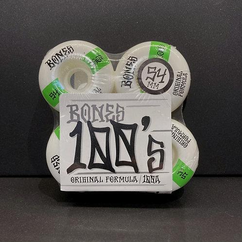 Bones 100's 54mm