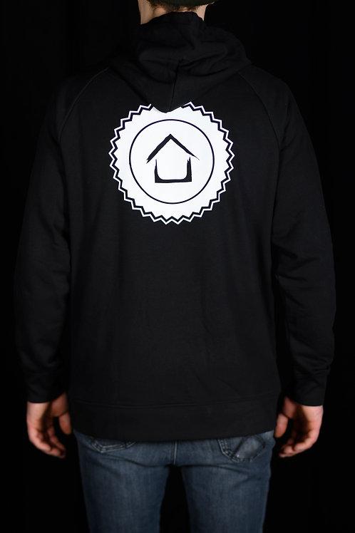 Skatehouse Stamp Hoodie Black