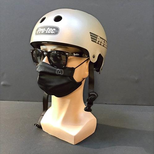 Protec Old School Helmet Metallic Gunmetal (grey)