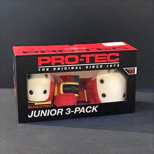 Protec Junior 3-Pack coloured