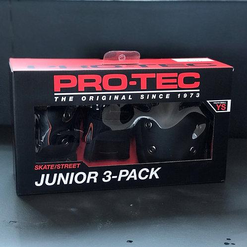 Protec Junior 3-Pack black