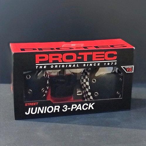 Protec Junior 3-Pack chequered