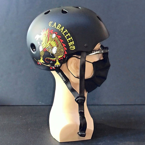 Protec Cab Dragon Classic Certified Helmet black