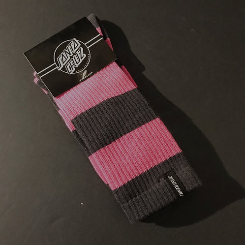 Santa Cruz Striped Socks