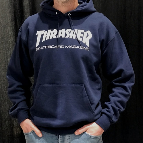 Thrasher Logo Hood Navy