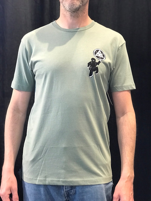 Welcome Peep This Light Green T-Shirt