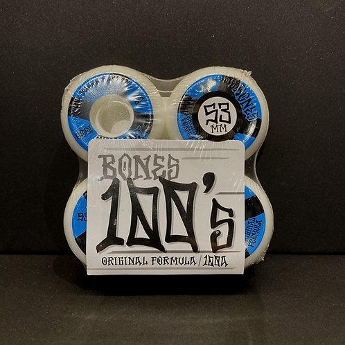 Bones 100's 53mm
