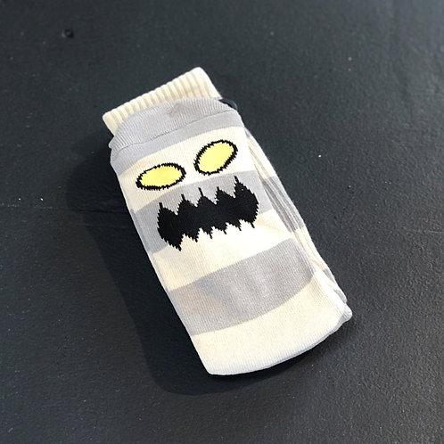 Toy Machine Monster Grey Stripes socks