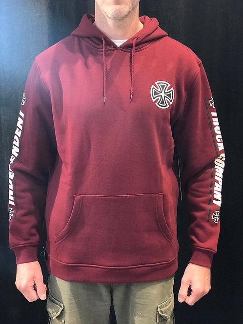 Independent Shear Hoodie Burgundy