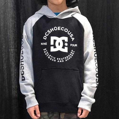DC Shoe CO. USA Star Pilot Raglan Kids Black/Grey