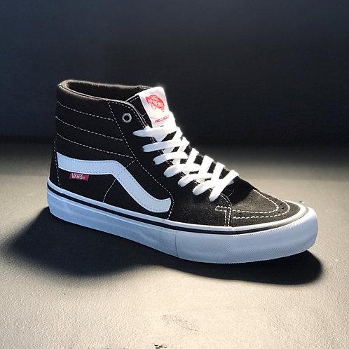 Vans Sk8 Hi Pro Black/White