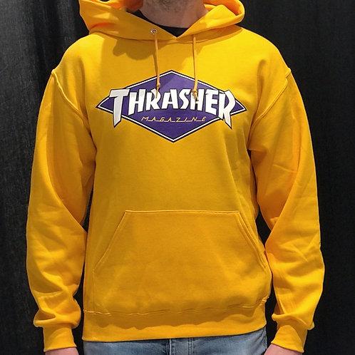 Thrasher Diamond Logo Hood Gold