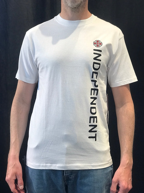 Independent Direction Tee White