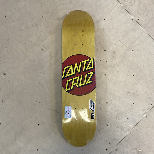 "Santa Cruz Classic Dot 7.75"""