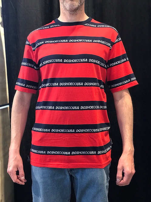 DC Shoe CO. Striped T-Shirt