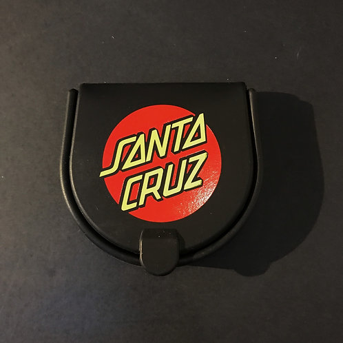 Santa Cruz Compact Pouch in Black