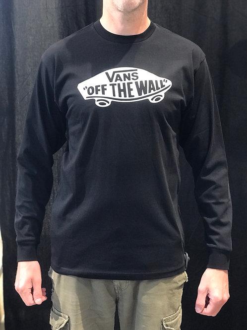 Vans Off The Wall Long Sleeve Black