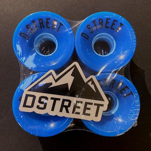 DStreet 59mm 78A Blue