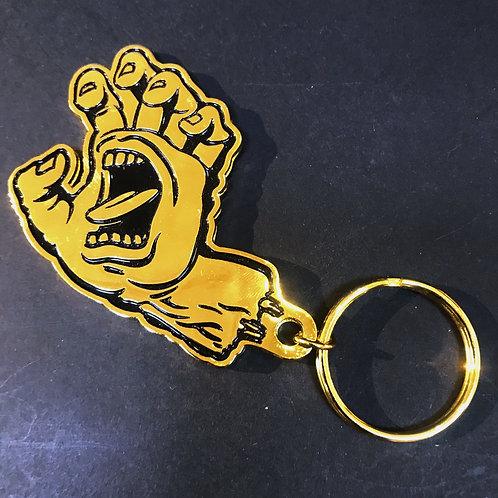 Santa Cruz Gold Coloured Key Ring