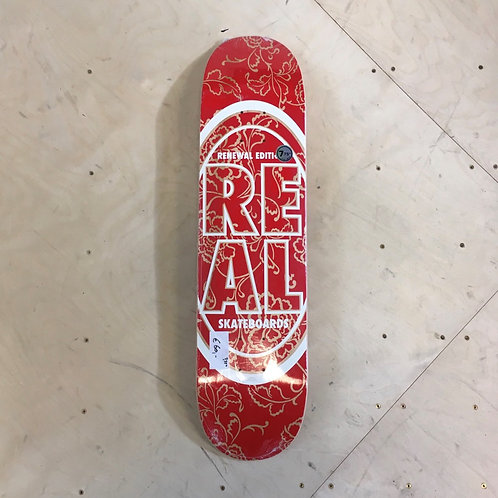Real Renewal Red 7.75""