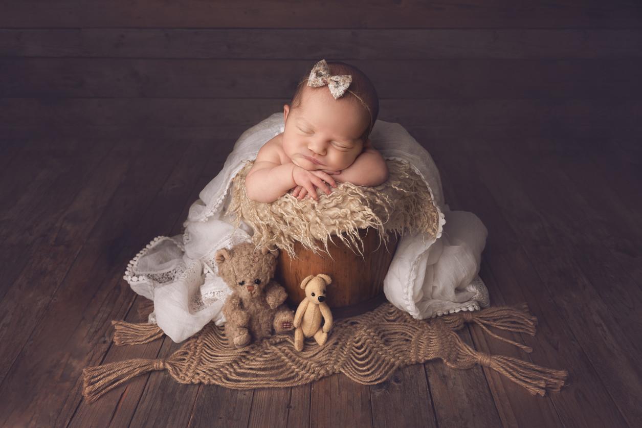 Un bébé tout reposé