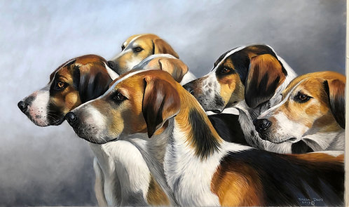West Somerset Vale Fox hounds