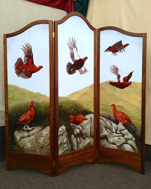Grouse Dressing Screen