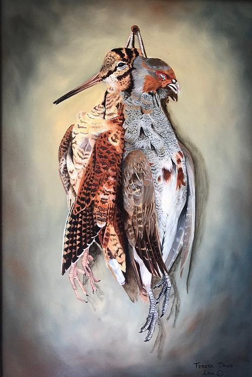 English Partridge and Woodcock