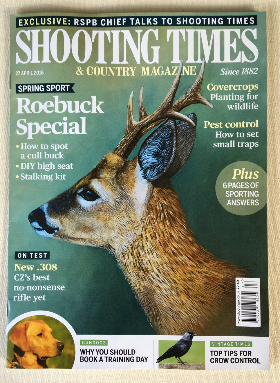 Shooting Times front cover