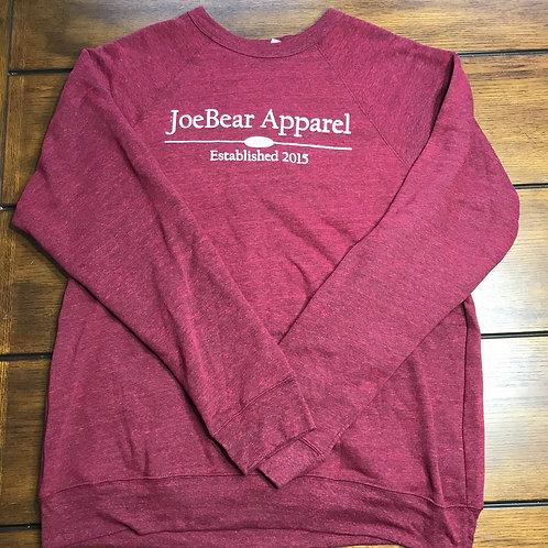 JoeBear Foundation Sweatshirt - Cardinal Tri-blend