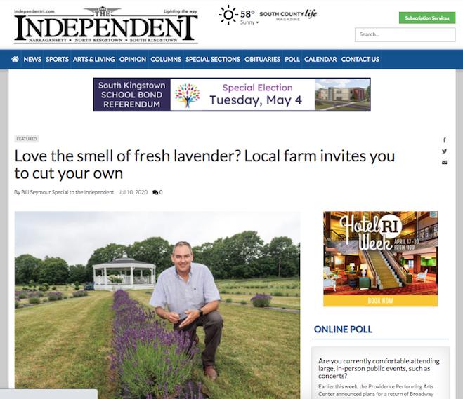 Come Cut Your Own Lavender