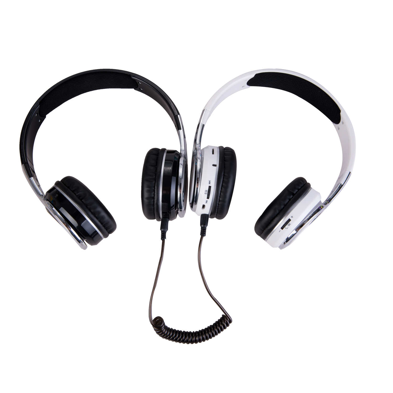 黑白 耳机有线(1)