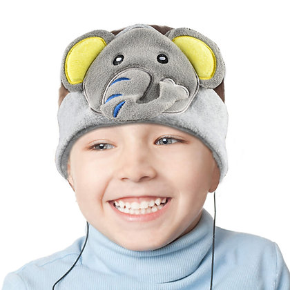 H1 Kids Fleece Headphone (Elephant)