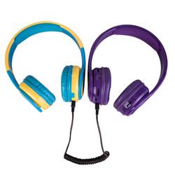 黄蓝 紫 耳机有线